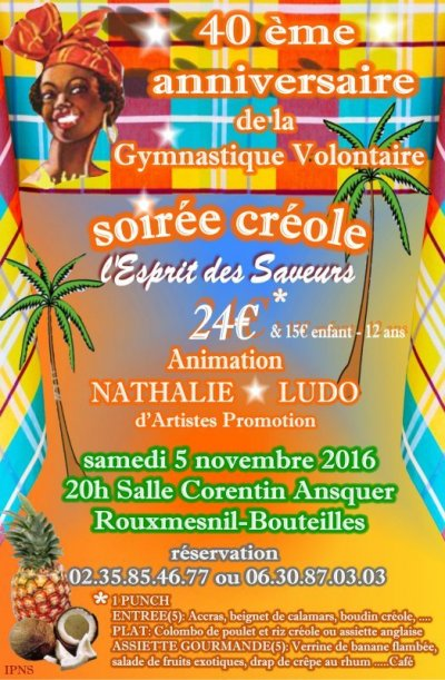 SOIREE DE LA GYM 2016 1