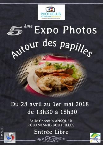 Affiche expo gilbert 2018