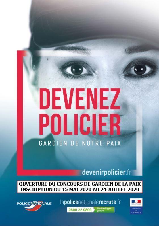 affiche-recrutement-police-femme