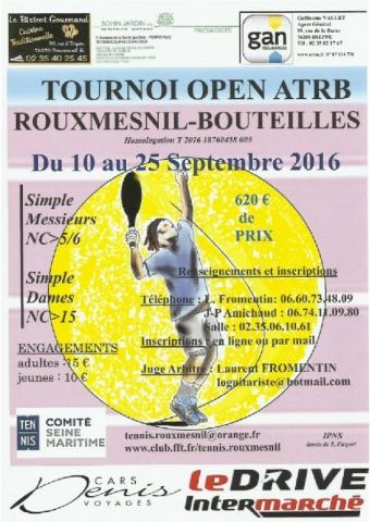 affiche tennis 2 2016