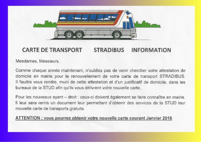 carte de transport