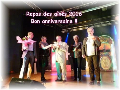 anniversaire Mme Lefebvre et M. Lécuyer 2016