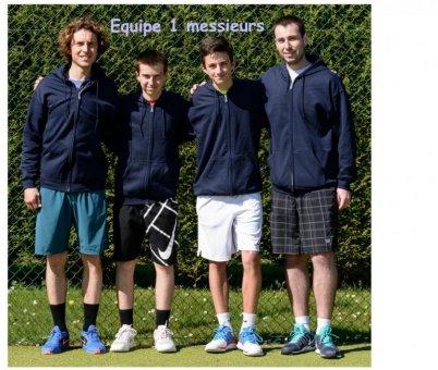 equipe 1 messieurs