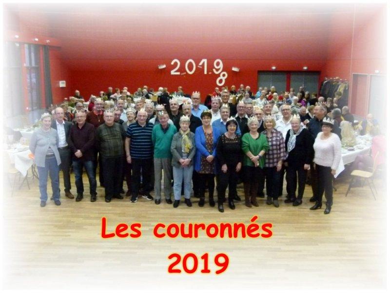 Les couronnés 2019